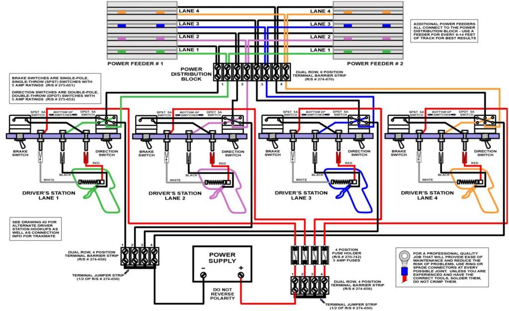 Track Wiring Diagram  U2022 Austin Slot Car Club